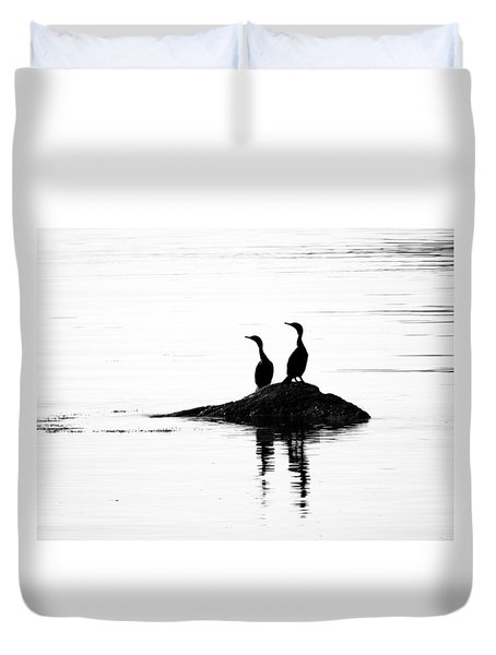 Time With You Duvet Cover