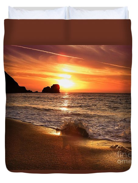 Timeless Moments Duvet Cover by Scott Cameron