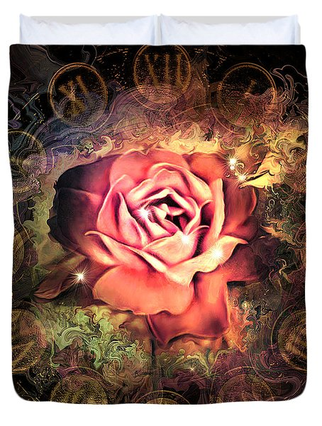 Timeless Rose Duvet Cover