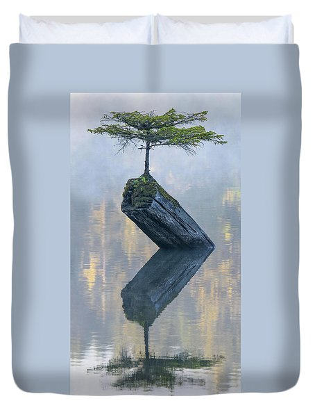 Timeless Tranquility Duvet Cover by Keith Boone