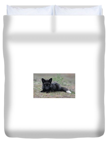 Duvet Cover featuring the photograph Here's Looking At You by Elvira Butler