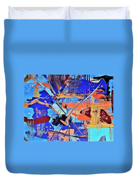 Timestorm Duvet Cover