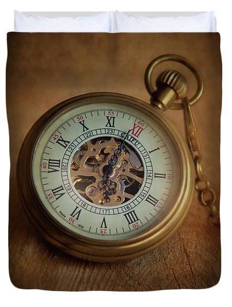 Time,time,time Duvet Cover
