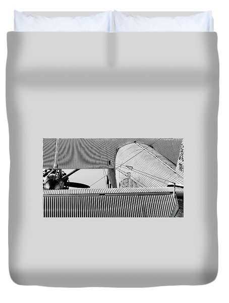Tin Drag Duvet Cover