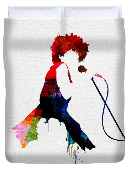 Tina Watercolor Duvet Cover