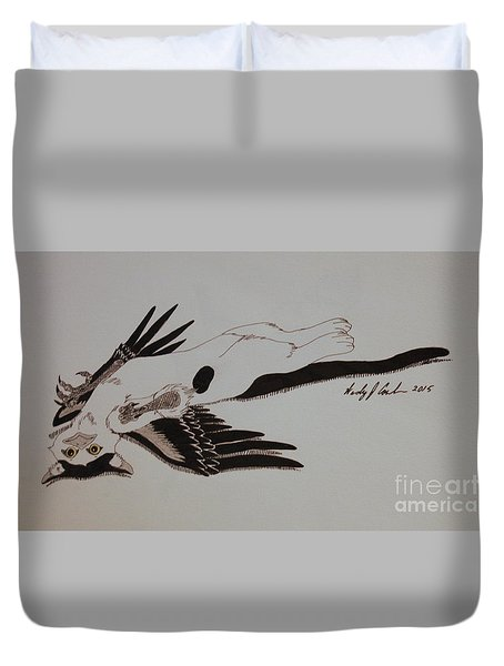 Tinkergriff Duvet Cover by Wendy Coulson