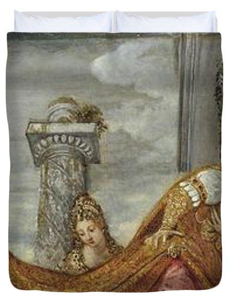 Tintoretto Duvet Cover