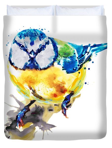 Blue Tit Duvet Cover