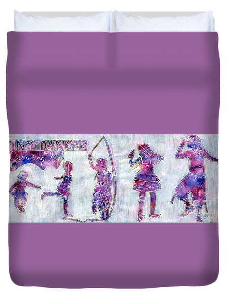 Tiny Dancer Growing Up Duvet Cover