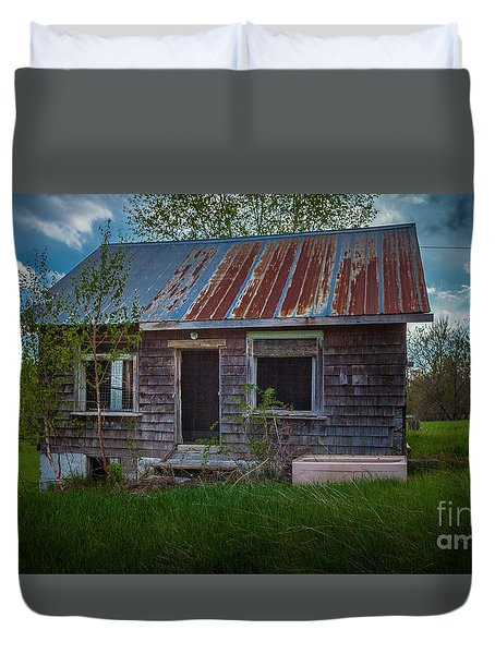 Tiny Farmhouse Duvet Cover