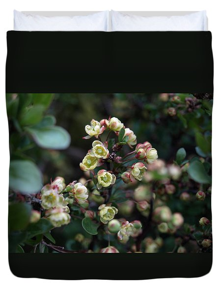 Tiny Flowers Duvet Cover by Richard Brookes