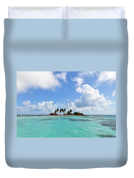 Tiny Island Duvet Cover