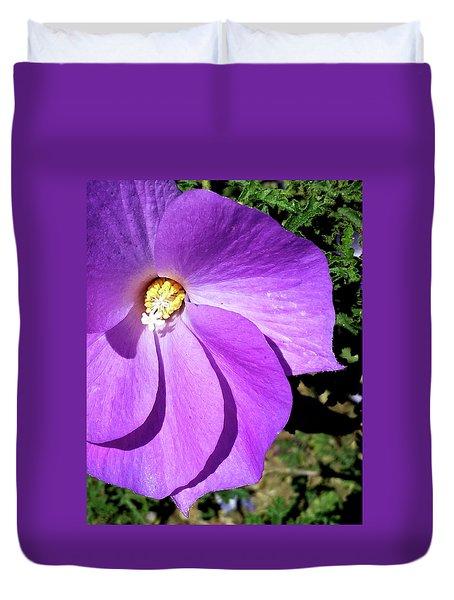 Tiny Purple Flower Duvet Cover