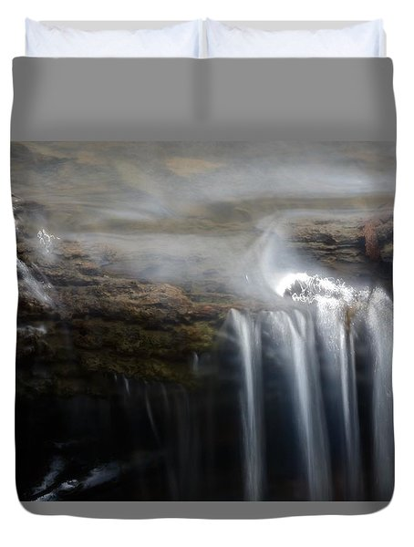 Tiny Waterfall Duvet Cover