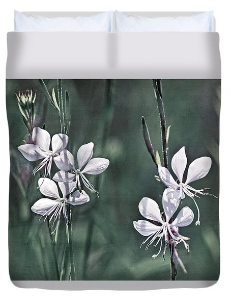 Tiny Whites Duvet Cover
