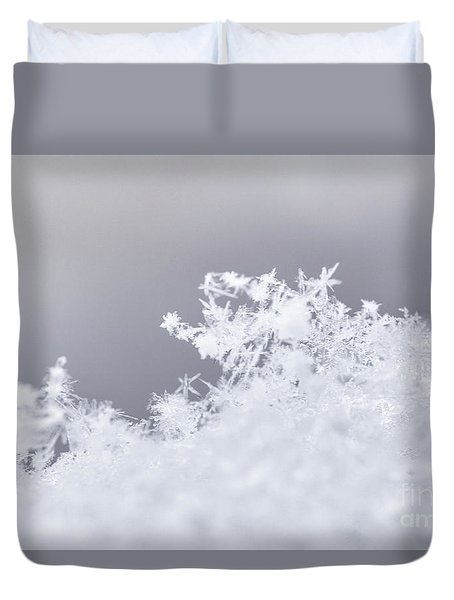 Duvet Cover featuring the photograph Tiny Worlds II by Ana V Ramirez