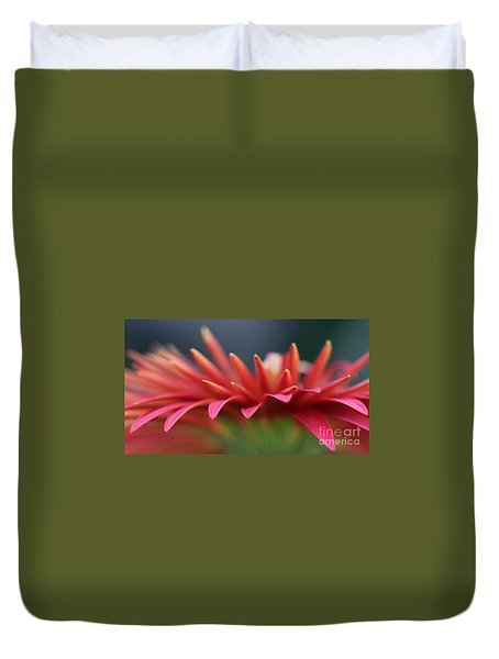 Tip Of The Flower Petals Duvet Cover by Yumi Johnson