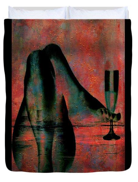 Tipsy Turvey Duvet Cover by Greg Sharpe