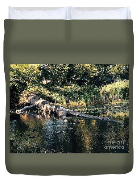 Tired Tree Duvet Cover