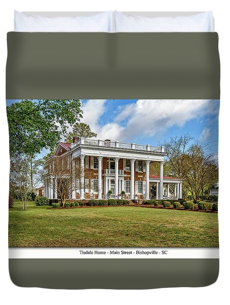 Tisdale Manor2 Duvet Cover