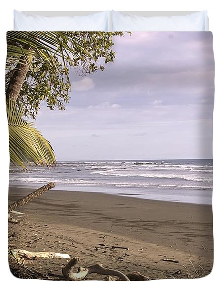 Tiskita Pacific Ocean Beach Duvet Cover