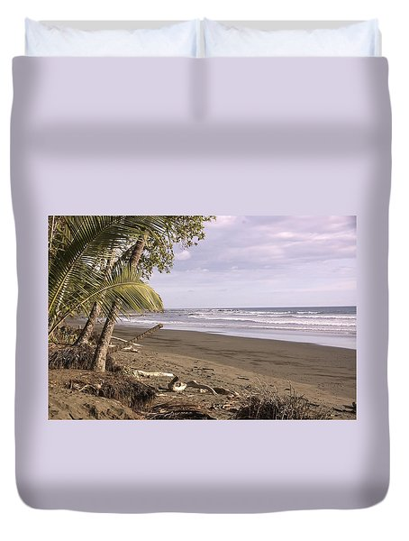 Tiskita Pacific Ocean Beach Duvet Cover