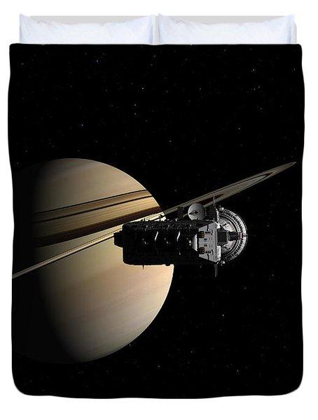 Titan In Sight Duvet Cover