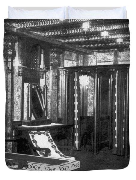 Titanic: Turkish Bath, 1912 Duvet Cover