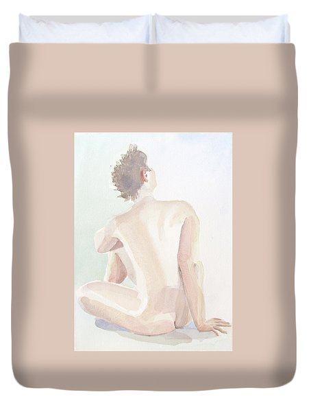 Tittande Uppat-looking Upwards  2,24 Mb_0055 Up To 51 X 76 Cm Duvet Cover