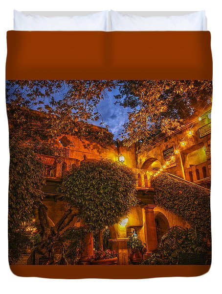 Tlaquepaque Evening Duvet Cover by Laura Pratt