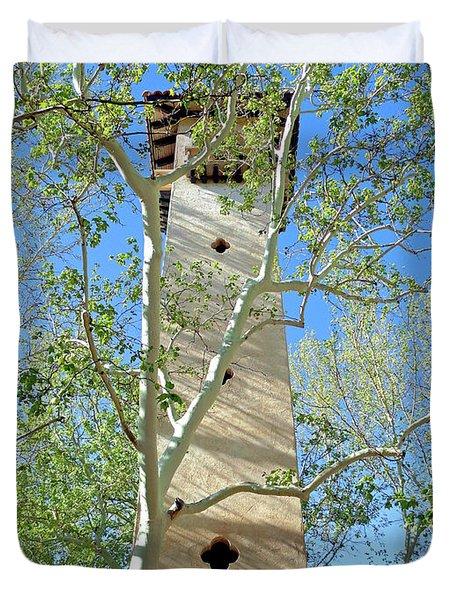 Tlaquepaque Tower Duvet Cover