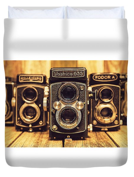 Tlr Group Duvet Cover