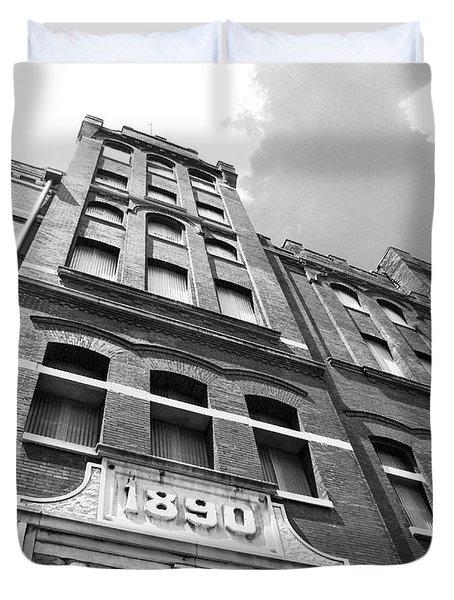 Tn Brewery Memphis 1890 Duvet Cover