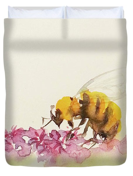 To Bee Or Not To Be Miniature Duvet Cover