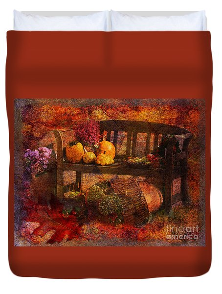 To Everything There Is A Season 2015 Duvet Cover