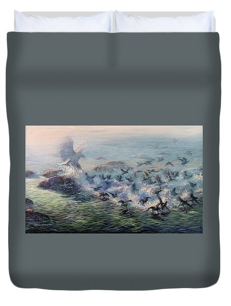 To Find Salvation Duvet Cover