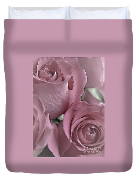 To My Sweetheart Duvet Cover