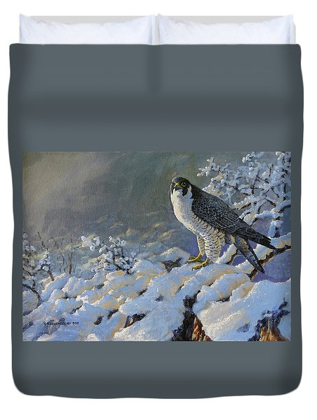 To Survive The Winter Duvet Cover