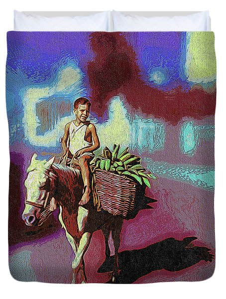 To The Marquet Duvet Cover
