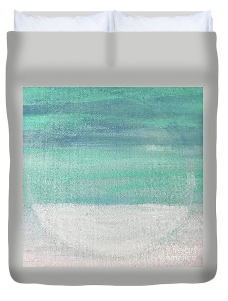 To The Moon Duvet Cover by Kim Nelson