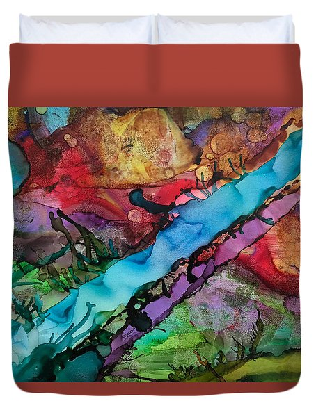 To The River Duvet Cover