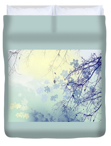 To The Waiting One Duvet Cover by Trilby Cole