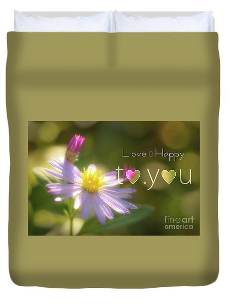 To You #003 Duvet Cover