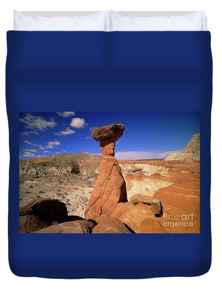 Toadstool Caprocks Utah Duvet Cover