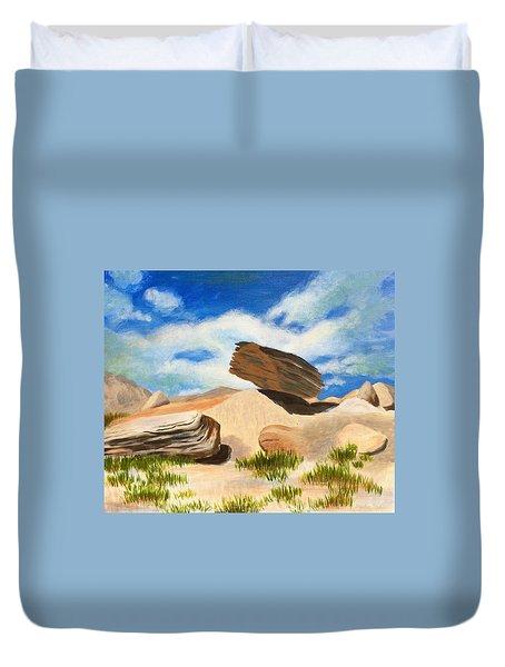 Toadstool Park Nebraska Duvet Cover