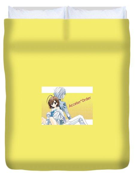 Toaru Majutsu No Index Duvet Cover