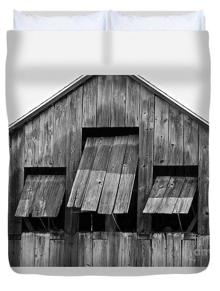 Tobacco Barn Duvet Cover