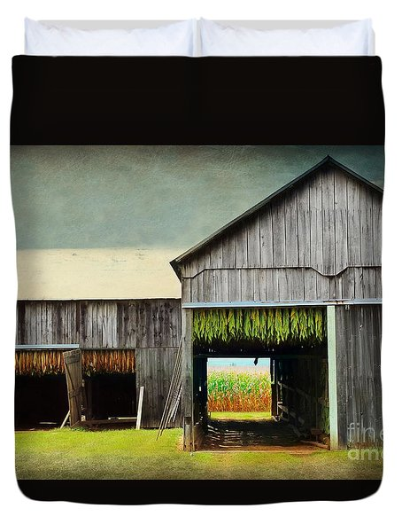 Tobacco Drying Duvet Cover