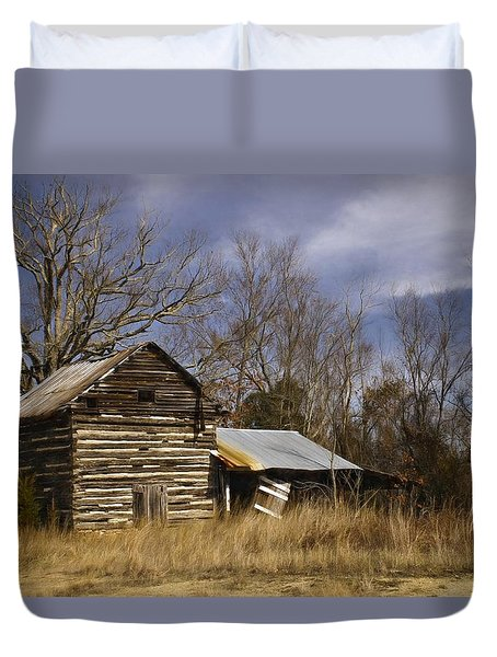 Tobacco Road Duvet Cover by Benanne Stiens