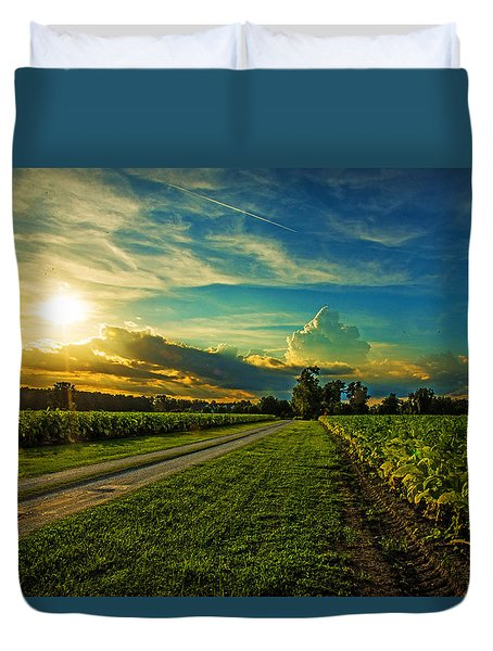 Tobacco Row Duvet Cover by John Harding